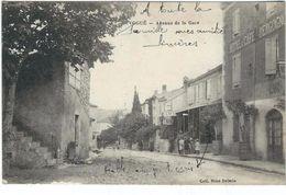 Ardeche : Vogué, Avenue De La Gare - Autres Communes