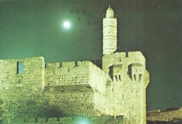 Israel - Jerusalem - La Citadelle La Nuit - Israel