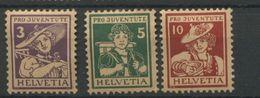 Pro Juventute  154/156 *  Très Frais  Coté  45 Euros - Switzerland