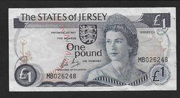 JERSEY - 1 Livre - [ 4] Isle Of Man / Channel Island