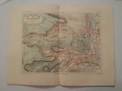 Carte Du XIX ème - Saint Cloud Et Ses Environs Par Malte Brun - Gravé Par Erhard - Rouff éditeur - Cartes Géographiques