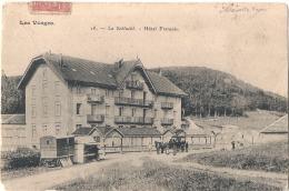 ****  88  ***   La Schlucht Hotel Français - Pli - - Autres Communes