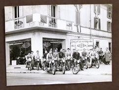 Fotografia D'epoca Motociclismo - Concessionario Gilera - G. Zappa - 1950 Ca. - Fotografia