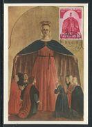 Vatican - Carte Maximum 1960 - La Vierge - Maximum Cards