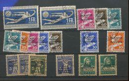 1932   Service  Ø   Séries Complètes   Yv. Cote 180 E - Officials