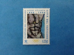 1996 VATICANO FRANCOBOLLO NUOVO STAMP NEW MNH** - OLIMPIADI ATLANTA IL PLESSO SOLARE - Unused Stamps