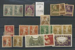 Helvetia  206a *  Yv. Cote 45 E  Les Autres Sont En Cadeau - Switzerland