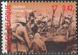 Belgique 2000 COB 2943 Neuf ** Cote (2016) 1.00 Euro La Grande Guerre Front De L'Yser - Belgium