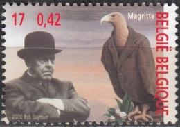 Belgique 2000 COB 2953 Neuf ** Cote (2016) 1.00 Euro René Magritte - Belgio