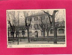 94 Val De Marne, Saint-Maur-des-Fossés, Ecole Des Garçons, 1904, (B. F.) - Saint Maur Des Fosses