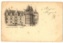 CPA 37 Indre Et Loire Azay-le-Rideau Château - Azay-le-Rideau