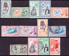 SIERRA LEONE 1961 SG #223-35 Compl.set Used CV £23 - Sierra Leone (1961-...)