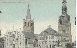COMINES : Grand'Place Démantelée - Cachet De La Poste 1908 - Komen-Waasten