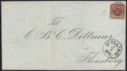 1862. SCHLESWIG A FLENSBORG. - 1851-63 (Frederik VII)