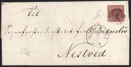 1862. SLAGBLSB A NESTVED. - 1851-63 (Frederik VII)