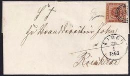 1863. KIOGP A ROESKILDE. - 1851-63 (Frederik VII)
