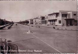 VEND N.1 CARTOLINA DI JOLANDA DI SAVOIA FERRARA ,CORSO MATTEOTTI,FORMATO GRANDE IN BIANCO E NERO VIAGGIATA NEL 1963 - Ferrara