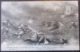 Guerre 14-18 - Bataille De La Marne - Combat Dans Les Ruines De Huiron - Animée - Non-circulée - War 1914-18