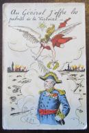 Carte Postale Militaire - Au Général J'offre Les Palmes De La Victoire - Illustration Couleur E.H. - Le 8 Octobre 1914 - Personnages