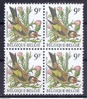 BELGIE * Buzin * Nr 2190 * Postfris Xx * WIT  PAPIER - GRIJZE GOM - 1985-.. Vögel (Buzin)