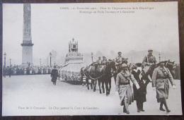 Carte Postale Militaire - 11 Novembre 1920 - Cinquantenaire - Hommage Au Poilu Inconnu Et à Gambetta - Régiments