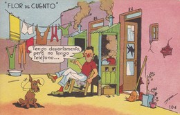 ARGENTINE. FLOR DE CUENTO. ILLUSTRATION BY BENZ. ED LA SUDAMERICANA. CIRCA 1940s. TBE-BLEUP - Humour