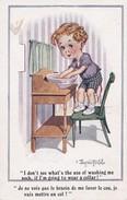 """Carte 1920 SIGNEE DONALD MC GILL """"je Ne Vois Pas Le Besoin De Me Laver Le Cou..."""" - Mc Gill, Donald"""