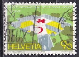 Svizzera, 1988 - 90c Red Cross Museum - Nr.827 Usato° - Zwitserland