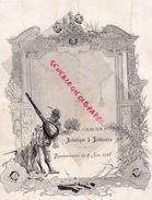 75- PARIS - RARE PROGRAMME CERCLE ARTISTIQUE ET LITTERAIRE RUE VOLNEY-9 JUIN 1906-NE DIVORCONS PAS-DIVORCE-TRAC GENDARME - Programmi