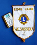 Storia Locale Lombardia - Gagliardetto Lions Club Valsassina - XX 1976-1996 - Altre Collezioni