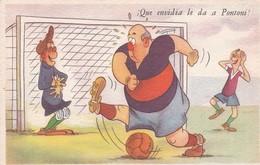 ARGENTINE.¡QUE ENVIDIA LE DA A PONTONI!. ILLUSTRATION BY BENZ. ED BLOTTA Y FERRO. CIRCA 1940s. TBE-BLEUP - Humour
