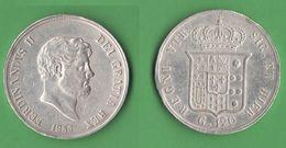 Due Sicilie 120 Grana 1856 Ferdinando II - Monnaies Régionales