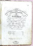 Musica Spartito - Raccolta Completa 84 Studi Per Pianoforte Di Cramer - 1880 Ca. - Vecchi Documenti