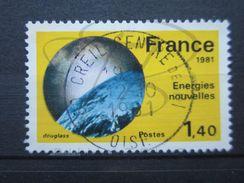 VEND BEAU TIMBRE DE FRANCE N° 2128 , CIEL CLAIR !!! - Variétés: 1980-89 Oblitérés
