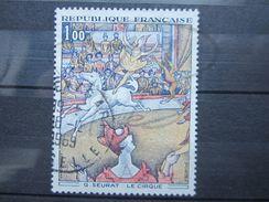 VEND BEAU TIMBRE DE FRANCE N° 1588A , FOND OCRE PALE !!! - Variétés: 1960-69 Oblitérés