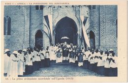 IO404     Uganda - La Prima Ordinazione Sacerdotale (1913) - Uganda