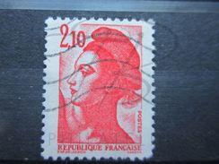 VEND BEAU TIMBRE DE FRANCE N° 2319 , TRAIT DANS LE COU !!! - Variétés: 1980-89 Oblitérés