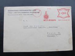 BRIEF Praha 17 Svaz Dustojnictva 1936  Frankotype Freistempel Postfreistempel /// N7659 - Briefe U. Dokumente