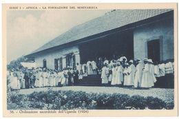 IO407     Uganda - Ordinazione Sacerdotale (1924) - Uganda