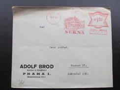 BRIEF Praha 1 Sukna 1931 Frankotype Freistempel Postfreistempel /// N7667 - Briefe U. Dokumente