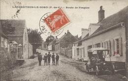 Landrethun Le Nord - Route De Ferques ( Animée -  Vieille Voiture ) - Other Municipalities