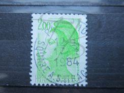VEND BEAU TIMBRE DE FRANCE N° 2188 , BANDE PHOSPHORE A CHEVAL HORIZONTALEMENT !!! (a) - Variétés: 1980-89 Oblitérés