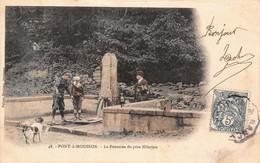 (54) Pont à Mousson - La Fontaine Du Père Hilarion - Pont A Mousson