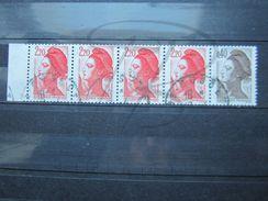 VEND BEAU TIMBRE DE FRANCE N° 2376 X 3 + 2376b !!! - 1982-90 Liberty Of Gandon