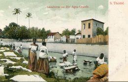 SAO THOME ET PRINCIPE(LAVEUSE) - Sao Tome Et Principe