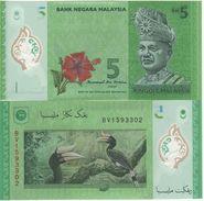 MALAYSIA   New  5  Ringgit  (ND 2017)  New Signature - Malaysia