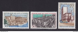 COTE D'IVOIRE N°  273, 274, 275 ** MNH Neufs Sans Charnière, TB  (D1684) - Costa De Marfil (1960-...)