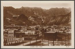General View, Aden, C.1930 - Lehem RP Postcard - Yemen