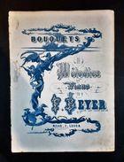 Musica Spartiti - Bouquets De Melodies Pour Piano - F. Beyer - Op. 42 - Old Paper
