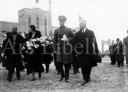 Real Photo / Royalty / Belgique / Koningin Astrid / Reine Astrid / Roi Leopold III / Inauguration Du Canal Albert / 1934 - Famous People